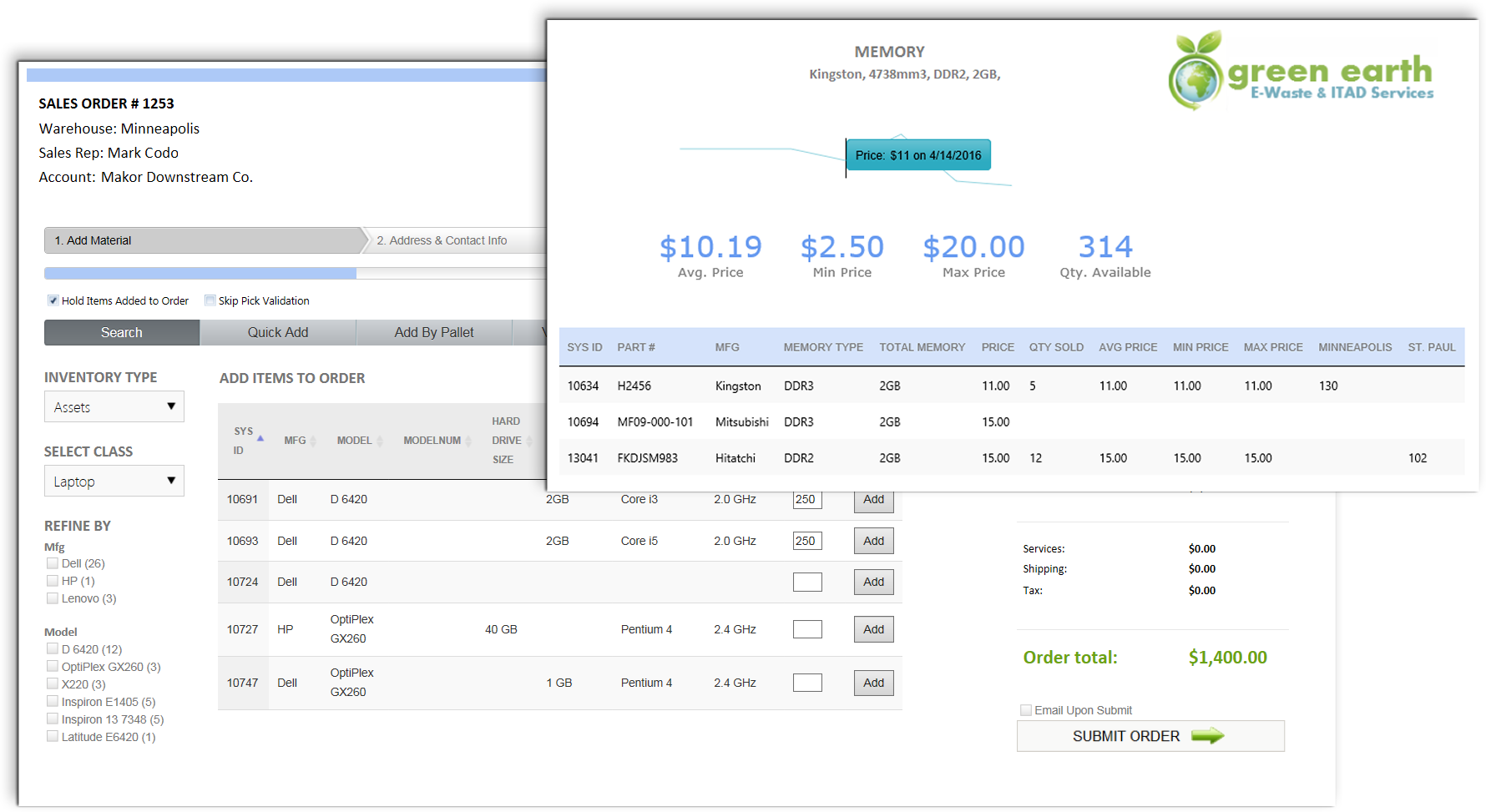 order management software for ewaste and ITAD